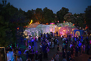 15th Serpentine Pavilion designed by Spanish architects Selgascano, Serpentine's Summer party co-hosted with Christopher Kane. 15th Serpentine Pavilion designed by Spanish architects Selgascano. Kensington Gardens. London. 2 July 2015.