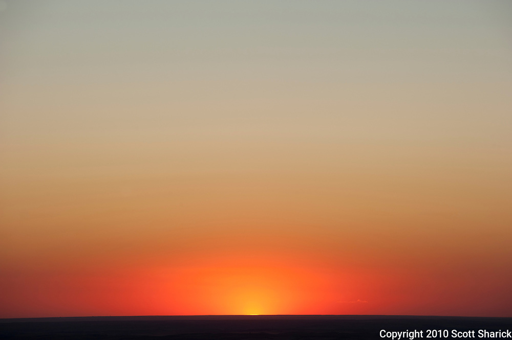 These are the kind of sunsets I used to see from my apartment in Waikiki, but this one was from Steptoe Butte in the Palouse Region of Washington State.