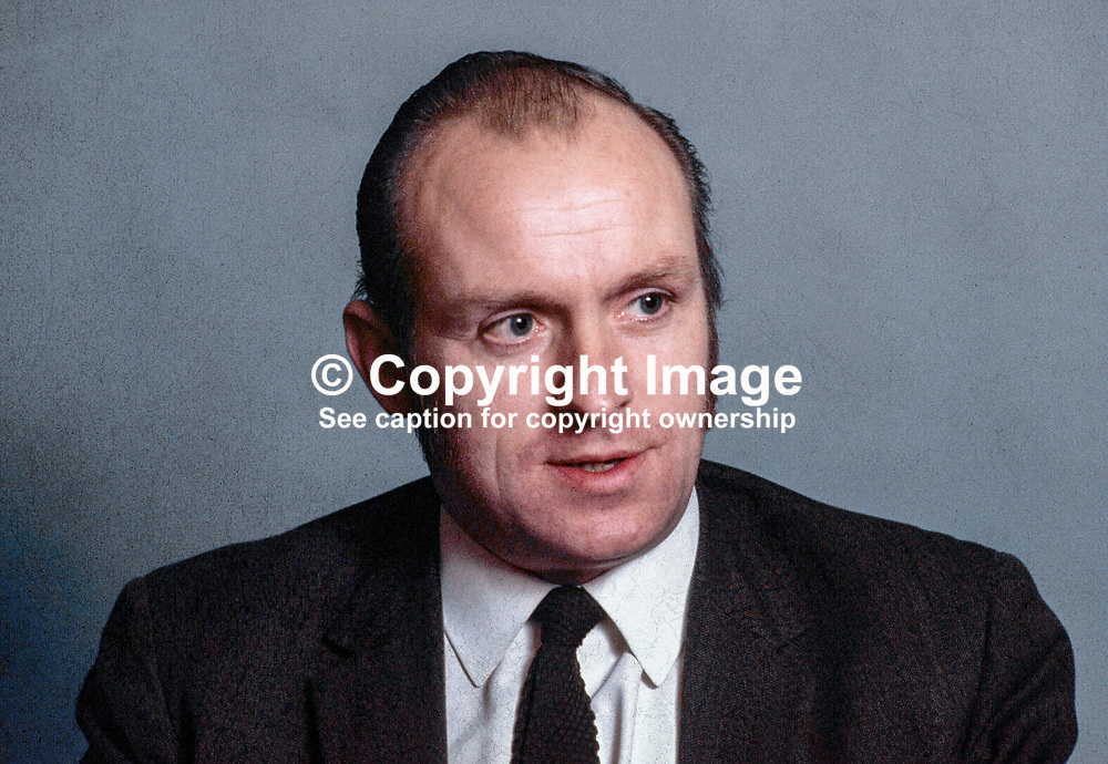 Senator Paddy Wilson, SDLP, N Ireland, 1971100440.<br /> <br /> Copyright Image from Victor Patterson, Belfast, UK<br /> <br /> t: +44 28 9066 1296 (from Rep of Ireland 048 9066 1296)<br /> m: +44 7802 353836<br /> e: victorpattersonbelfast@gmail.com<br /> <br /> www.images4media.com<br /> <br /> Please see my full Terms and Conditions of Use at https://www.images4media.com/p/terms-conditions - it is IMPORTANT that you familiarise yourself with them.<br /> <br /> Images used online incur an additional cost. This cost should be agreed in writing in advance. Online images must be visibly watermarked i.e. © Victor Patterson or that of the named photographer within the body of the image. The original metadata must not be deleted from images used online.<br /> <br /> This image is only available for the use of the download recipient i.e. television station, newspaper, magazine, book publisher, etc, and must not be passed on to a third party. It is also downloaded on condition that each and every usage is notified within 7 days to victorpattersonbelfast@gmail.com.<br /> <br /> The right of Victor Patterson (or the named photographer) to be identified as the author is asserted in accordance with The Copyright Designs And Patents Act (1988). All moral rights are asserted.