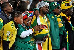 02.07.2010, Soccer City Stadium, Johannesburg, RSA, FIFA WM 2010, Viertelfinale, Uruguay (URU) vs Ghana (GHA) im Bild Fans von Ghana, EXPA Pictures © 2010, PhotoCredit: EXPA/ InsideFoto/ Perottino, ATTENTION! FOR AUSTRIA AND SLOVENIA ONLY!