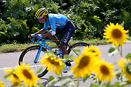 Nairo Quintana (COL - Movistar) during the 105th Tour de France 2018, Stage 18, Trie sur Baise - Pau (172 km) on July 26th, 2018 - Photo Kei Tsuji / BettiniPhoto / ProSportsImages / DPPI