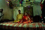 Marriage ceremony; 10th April,2008. Mirpur, Dhaka, Bangladesh
