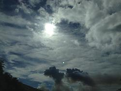 Cane Factory Exhaust Clouds on the Road to Wailea, Maui, Hawaii, US