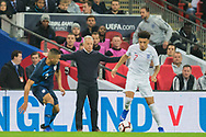 Dave Sarachan, Interim Manager of USA FC during the international Friendly match between England and USA at Wembley Stadium, London, England on 15 November 2018.