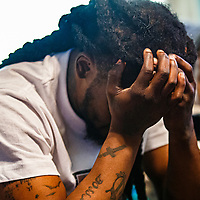 Shaquail Harris grapples with the reality of the loss of his 11 month-old daughter Dior Harris, who was murdered  Sunday evening when police suspect Chavez Ocasio killed her and shot two other children in the back of a car in Syracuse.