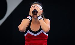 December 31, 2018 - Brisbane, AUSTRALIA - Kimberly Birrell of Australia in action during her first-round match at the 2019 Brisbane International WTA Premier tennis tournament (Credit Image: © AFP7 via ZUMA Wire)