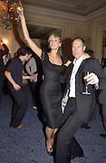 Mrs. Harry Blain. Rachel Whiteread, Haunch of Venison opening party. 28 October 2002. © Copyright Photograph by Dafydd Jones 66 Stockwell Park Rd. London SW9 0DA Tel 020 7733 0108 www.dafjones.com