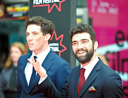 """God's Own Country UK Premiere, Wednesday 21st June 2017<br /> <br /> The opening night gala of the Edinburgh International Film Festival featured the UK Premiere of """"God's Own Country""""<br /> <br /> Josh O'connor and Alec Secareanu<br /> <br /> Stars and guests arrive on the red carpet<br /> <br /> (c) AimeeTodd 