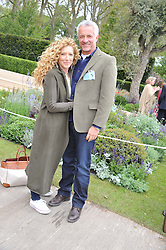 KELLY HOPPEN and JOHN GARDNER at the 2012 RHS Chelsea Flower Show held at Royal Hospital Chelsea, London on 21st May 2012.