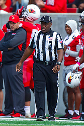 NORMAL, IL - October 05:  John Smith during a college football game between the ISU (Illinois State University) Redbirds and the North Dakota State Bison on October 05 2019 at Hancock Stadium in Normal, IL. (Photo by Alan Look)