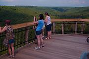 Northcentral Pennsylvania, Viewers' Platform, Harrison State Park, Pine Creek Gorge