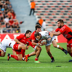 Frederic Michalak of Lyon during the pre-season match between Rc Toulon and Lyon OU at Felix Mayol Stadium on August 17, 2017 in Toulon, France. (Photo by Guillaume Ruoppolo/Icon Sport)