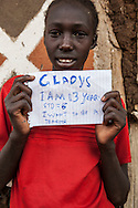 This project was shot in 2008 at the Mutaro School, which is located in the Laikipia district, one of the seventy-one districts of Kenya.<br /> I was commissioned to take these photographs by The Rainbow Collections Children Foundation in order to raise funds to rebuild the school.<br /> The new school is now finished!!<br /> <br /> After the initial suspicion the children started to have fun with the camera, on the last day I asked them to write their name, age and their dreams for the future so I could portrait them: they loved the idea and had a lot of fun during the shoot and I could see how much it meant to them to have individual attention.