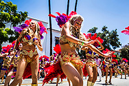 Summer Solstice Parade in Santa Barbara.