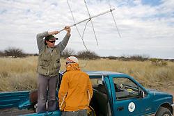 Claudia - Radio Telemetry with Greg's Help