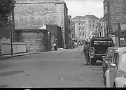 Bomb Damage, Green St. Court.15/07/1976.07/15/1976.15th July 1976..Photograph showing the damage caused to the Special Criminal Court, Green Street after it was hit by two bombs. Four prisoners succeeded in escaping through the demolished wall.