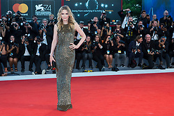 """Michelle Pfeiffer arriving to the premiere of """"Mother"""" as part of the 74th Venice International Film Festival (Mostra) in Venice, Italy on September 5, 2017. Photo by Marco Piovanotto/ABACAPRESS.COM"""