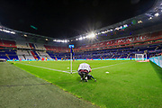 General view of Groupama Stadium during the French championship Ligue 1 football match between Olympique Lyonnais and Nimes Olympique on September 18, 2020 at Groupama stadium in Decines-Charpieu near Lyon, France - Photo Romain Biard / Isports / ProSportsImages / DPPI