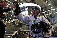 GET-ligaen Ice Hockey, 27. october 2016 ,  Stavanger Oilers v Stjernen<br /> Magnus Hoff fra Stavanger Oilers etter kampen mot Stjernen<br /> Foto: Andrew Halseid Budd , Digitalsport