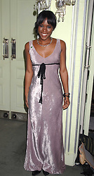 Actress CLARE-HOPE ASHITEY attending the 27th Awards of the London Film Critics' Circle 2007 in aid of the NSPCC held at The Dorchester, Park Lane, London on 8th February 2007.<br /><br />NON EXCLUSIVE - WORLD RIGHTS