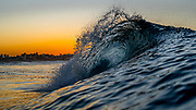 Sunrise Over Newport Beach and Ocean