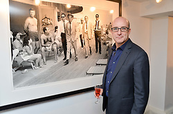 PAUL McKENNA at a private view of photographs 'Terry O'Neill-The Best Of' held at The Little Black Gallery, 13A Park Walk, London on 16th January 2014.