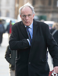 © Licensed to London News Pictures. 14/11/2018. London, UK. Peter Bone MP arrives at Parliament for Prime Minister's Questions. Theresa May will hold a cabinet meeting this afternoon to discuss a possible Brexit agreement. London, UK. Photo credit: Peter Macdiarmid/LNP