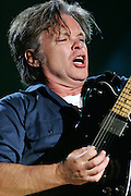 John Mellencamp performs at the MyCokefest concert in Indianapolis, Indiana on April 2, 2006. Photo by Michael Hickey