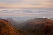 Hawksbill Mountain area, Western North Carolina