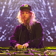 COLUMBIA, MD - August 30th, 2015 - Cashmere Cat performs at the 2015 Trillectro Festival at Merriweather Post Pavilion in Columbia, MD (Photo by Kyle Gustafson / For The Washington Post)