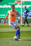 Cardiff City's Will Vaulks (6) in action during the pre-match warm-up before the EFL Sky Bet Championship match between Cardiff City and Nottingham Forest at the Cardiff City Stadium, Cardiff, Wales on 2 April 2021.