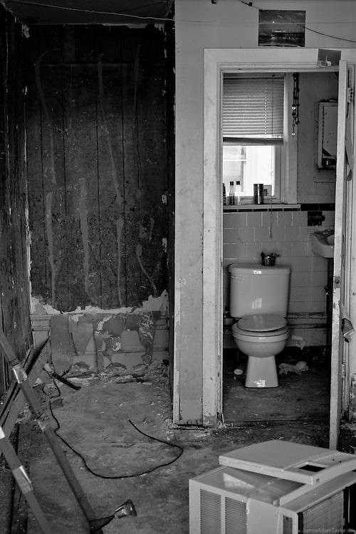 Motel room interior, West Atlantic City