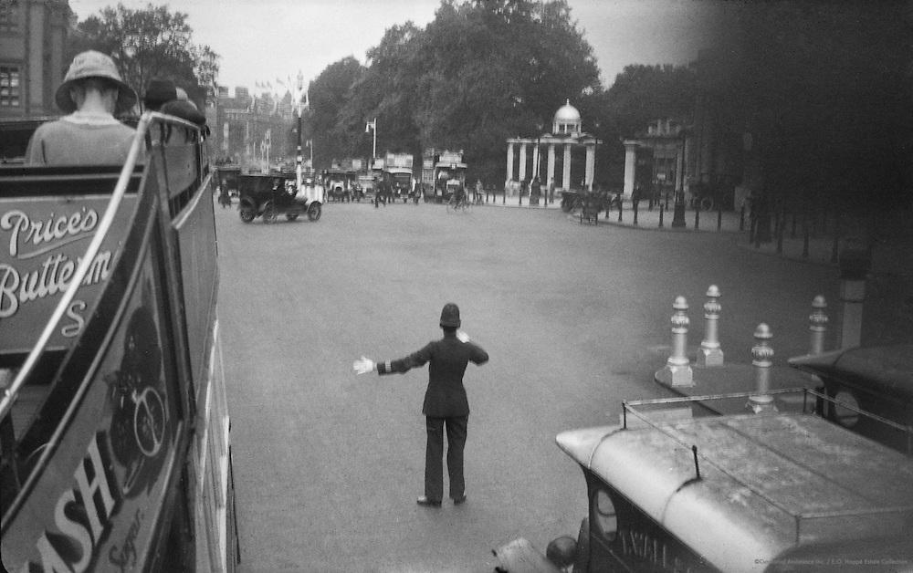 Traffic Policeman, London, c.1918