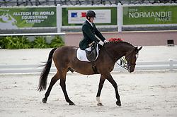 James Dwyer, (IRL), Orlando - Team Competition Grade IV Para Dressage - Alltech FEI World Equestrian Games™ 2014 - Normandy, France.<br /> © Hippo Foto Team - Jon Stroud <br /> 25/06/14