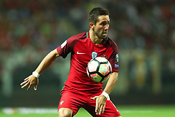 August 31, 2017 - Porto, Porto, Portugal - Portugal's midfielder Joao Moutinho in action during the FIFA World Cup Russia 2018 qualifier match between Portugal and Faroe Islands at Bessa Sec XXI Stadium on August 31, 2017 in Porto, Portugal. (Credit Image: © Dpi/NurPhoto via ZUMA Press)