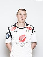 Fotball, Eliteserien , Tippeligaen 2012 , portrett , portretter , Sogndal<br /> <br /> Ørjan Hopen