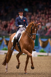 Biggs Hannah (GBR) - Weltzin<br /> Kur - Reem Acra FEI World Cup Dressage Qualifier - The London International Horse Show Olympia - London 2012<br /> © Hippo Foto - Jon Stroud