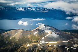 Cordilheira dos Andes vista do avião próximo a cidade de Ushuaia, conhecida como Fim do Mundo. FOTO: Jefferson Bernardes/ Agência Preview