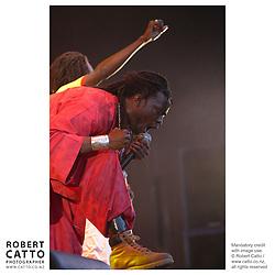 Daara J perform at WOMAD music festival in New Plymouth, Taranaki New Zealand.