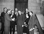 Mr Dan Spring (TD) New Parliamentary Secretary to Minister for Local Government.20/03/19554