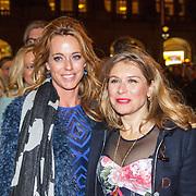 NLD/Amsterdam/20150306 - Boekenbal 2015, Marion Pauw en Elle van Rijn