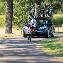 13-09-2020: Wielrennen: NK tijdrijden nieuwelingen en junioren: Chaam<br />Europees Kampioen Elise Uijen