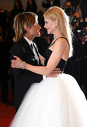 Keith Urban and Nicole Kidman attending The Killing of a Sacred Deer premiere as part of the 70th Cannes Film Festival. Photo credit should read: Doug Peters/EMPICS Entertainment