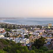 View of Ventura from Grant Park. Ventura, CA. USA.