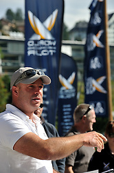 Christian Scherrer, President of the Organising Committee. Photo:Chris Davies/WMRT