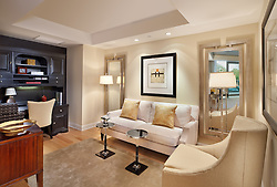 1881 Nash, Arlington, Virginia Turnberry Tower condominiums Family room TV room