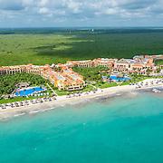 Aerial view of the Ocean Coral & Turquesa. Riviera Maya. Mexico