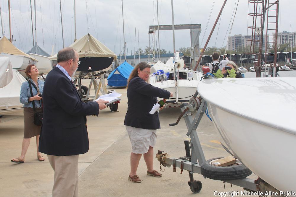 Christening and Blessing of Femme Fatale Flying Scott of LPWSA