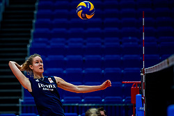 18-10-2018 JPN: World Championship Volleyball Women day 19, Yokohama<br /> Training day Netherlands in Yokohama Arena / Nicole Koolhaas #22 of Netherlands