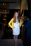 OLIVIA MANCA;  , Preview party for the Versace Sale.  The contents of fashion designer Gianni Versace's villa on Lake Como. Sothebys. Old Bond St. London. 16 March 2009.  *** Local Caption *** -DO NOT ARCHIVE -Copyright Photograph by Dafydd Jones. 248 Clapham Rd. London SW9 0PZ. Tel 0207 820 0771. www.dafjones.com<br /> OLIVIA MANCA;  , Preview party for the Versace Sale.  The contents of fashion designer Gianni Versace's villa on Lake Como. Sothebys. Old Bond St. London. 16 March 2009.